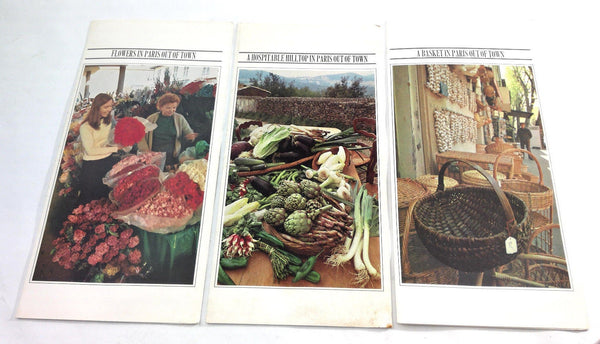 Vintage MARTEX Advertisements Lot From PARIS Out Of Town French Provincial