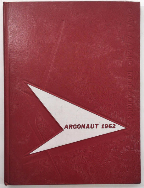 1962 NEW HOLSTEIN HIGH SCHOOL Wisconsin Original YEARBOOK Annual Argonaut