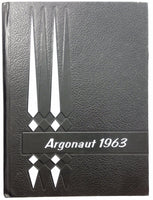 1963 NEW HOLSTEIN HIGH SCHOOL Wisconsin Original YEARBOOK Annual Argonaut