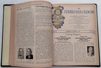 1951 1952 WISHIRE ROTARY CLUB 2412 The Ambassador Bound Los Angeles Newsletters