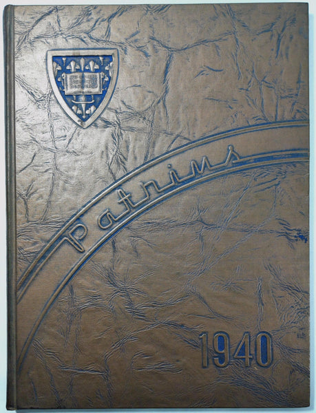 1940 St. Joseph's Academy St. Paul Minnesota Original Yearbook Annual Patrins