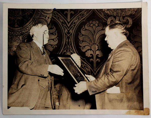 1937 Dr. Arthur T. McCormack & William Dunkerly International News Photo