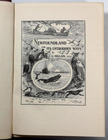 1907 Newfoundland And Its Untrodden Ways J G Millais Caribou Hunting Photographs