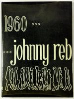 1960 SOUTH HIGH SCHOOL Denver Colorado Yearbook Annual Johnny Reb