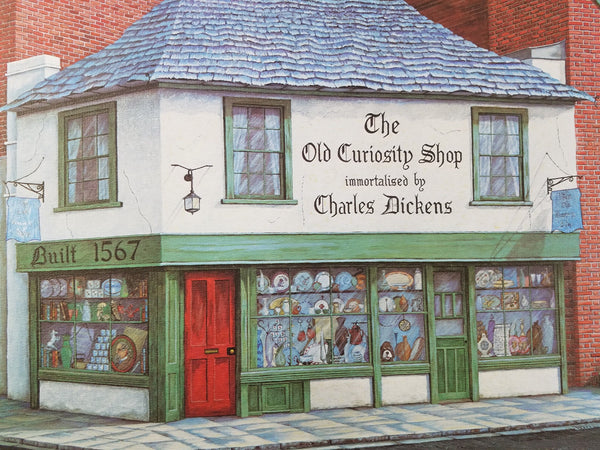 1975 Signed Limited Edition THE OLD CURIOSITY SHOP C.G. Morehead Charles Dickens