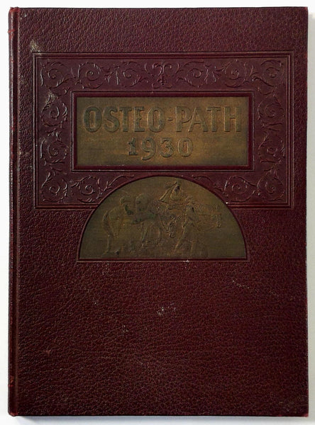 1930 Kansas City COLLEGE OF OSTEOPATHY & SURGERY Yearbook Annual Osteopath