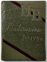 1946 MADISON HIGH SCHOOL Rexburg Idaho Yearbook Annual The Madisonian