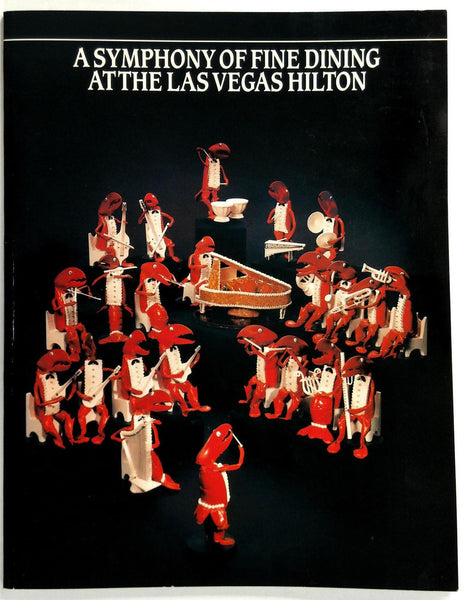 1980's Las Vegas HILTON HOTEL DINING Restaurants Highlights Coctails Recipes