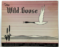 1959 Vintage Menu THE WILD GOOSE Restaurant Sherman Oaks & Burbank California