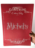 1950's LARGE Dinner Menu Michel's Restaurant The Colony Surf Honolulu Hawaii