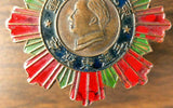 Old Chinese Civil War Medal China Taiwan Mao Zedong PRC ROC