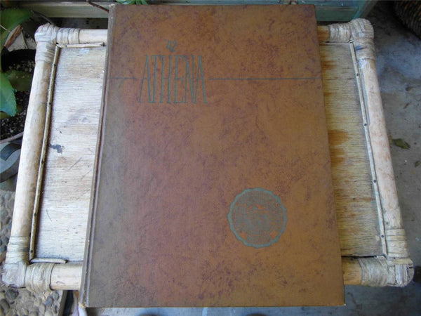 1942 Original Yearbook OHIO UNIVERSITY Athens Athena