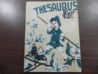 1946 MANCHESTER HIGH SCHOOL WEST YEARBOOK New Hampshire Thesaurus Fortin Family