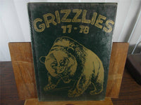 1978 Calvary Temple Academy Original Yearbook Memphis Tennessee Grizzlies