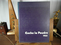 1955 Colorado State College Education Original Yearbook Annual Cache La Poudre