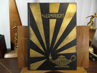 Rare 1927 Mu Sigma Fraternity Yearbook Annual The Lamplight College Chapters