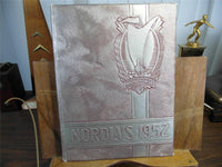 1952 Northeast High School Original Yearbook Annual Oklahoma City The Nordlys