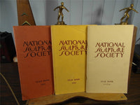 1951 1953 1956 National Sculpture Society Yearbooks Lot of 3 Annual Issues