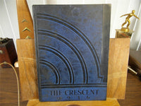 1936 Elwood High School Original Yearbook Annual Indiana The Crescent