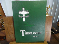 1961 PRACTICAL BIBLE TRAINING SCHOOL Johnson City NY YEARBOOK The Theologue