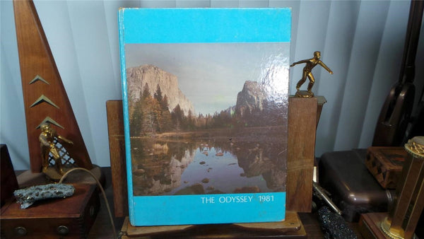 1981 University High School Irvine Ca Original Yearbook Annual The Odyssey