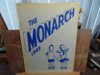 1949 ABRAHAM LINCOLN HIGH SCHOOL San Jose CA YEARBOOK Annual The Monarch