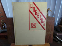 1940 EAST HIGH SCHOOL Denver CO Original YEARBOOK Annual The Angelus