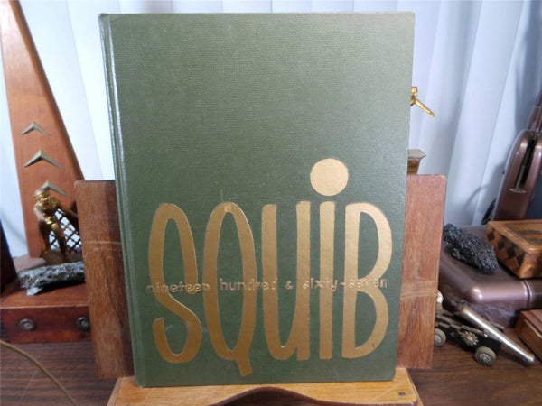 1967 Shelbyville High School Indiana Unmarked Yearbook Annual The Squib