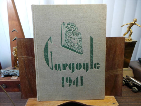 1941 EMMA WILLARD SCHOOL Troy New York Original YEARBOOK Annual Gargoyle