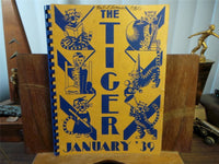 1939 Jan. LEWIS & CLARK HIGH SCHOOL Spokane Washington Original YEARBOOK Tiger