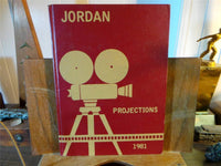 1981 JORDAN INTERMEDIATE SCHOOL Garden Grove California Original YEARBOOK Annual