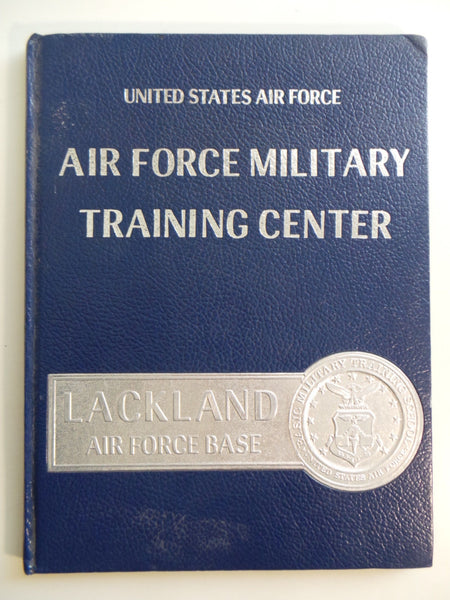 1985 Air Force Military Training Center Lackland YEARBOOK Squad 3711 Flight 001