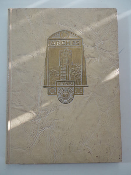 1935 Mount Mary College Milwaukee Wisconsin Original YEARBOOK Annual Arches