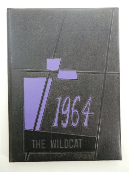 1964 Custer High School South Dakota Original YEARBOOK Annual Wildcat