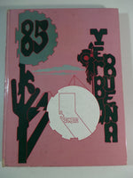 1985 YERBA BUENA HIGH SCHOOL San Jose California Original YEARBOOK Annual Aztec