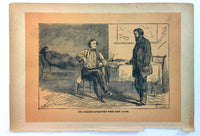 1890 SECRET SERVICE Civil War Baker aka Munson Jefferson Davis Interrogation