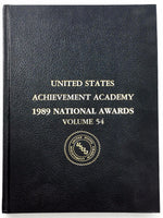 1989 United States ACEIVEMENT ACADEMY AWARDS Yearbook #54 SCIENCE MERIT