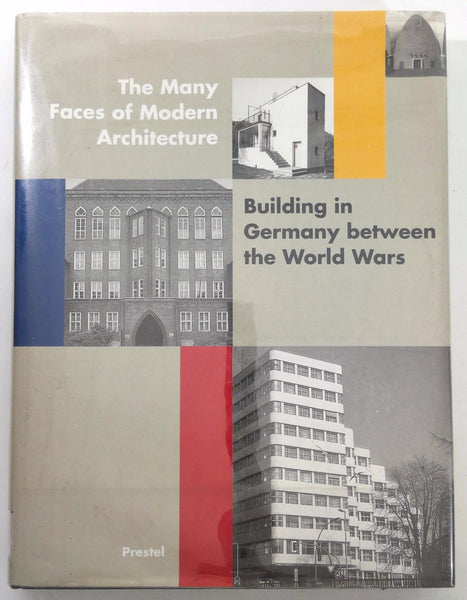 1994 Many Faces Of Architecture Building In GERMANY Between World Wars Zukowsky