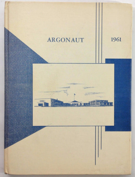 1961 NEW HOLSTEIN HIGH SCHOOL Wisconsin Original YEARBOOK Annual Argonaut