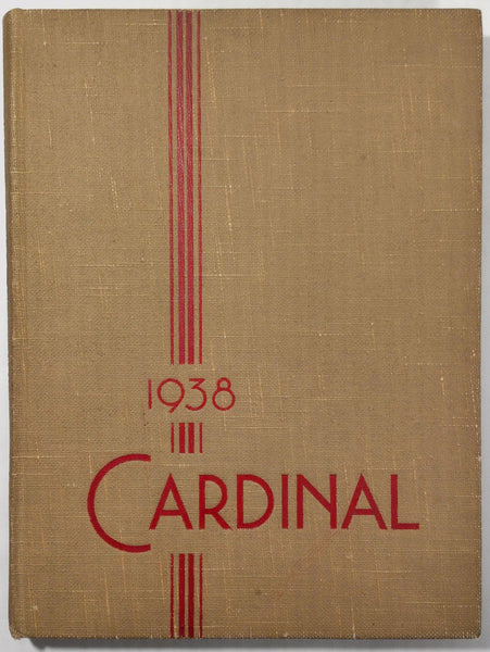 1938 South Division High School Milwaukee Wisconsin Yearbook Annual Cardinal