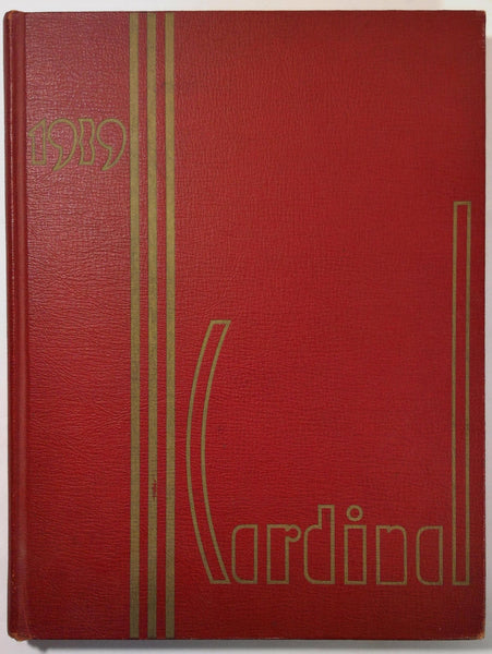 1939 South Division High School Milwaukee Wisconsin Yearbook Annual Cardinal