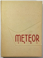 1951 La Sierra College Arlington California Original Yearbook Annual Meteor