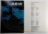 1972 Admiralty Experiment Works AEW Company Brochure Ship Tank History Photos