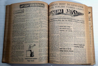 1941 Feb. To June Manual Arts High School Bound Daily Newspaper Newsletter