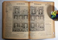 1941 1942 Manual Arts High School Bound Daily Newspaper Newsletter Sept. to Jan.