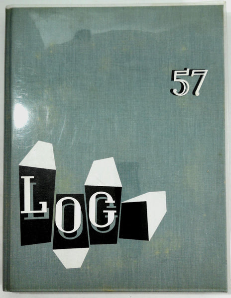 1957 Orange Coast College Costa Mesa California Yearbook Annual Log