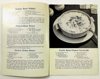 1943 WWII Wartime Meals KRAFT CHEESE RECIPES Ration Booklet Parkay Velveeta Ads