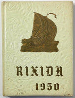 1950 RICKS COLLEGE Jesus Christ Latter Day Saints Rexburg Idaho The Rixida