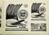 Rare c1968 The GOLDEN BREED Surfing DISTRIBUTOR MOVIE PROMO Dale Davis Posters