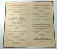 1987 Original Vintage Menu THE PEPPERCORN DUCK CLUB Restaurant Kansas City MO